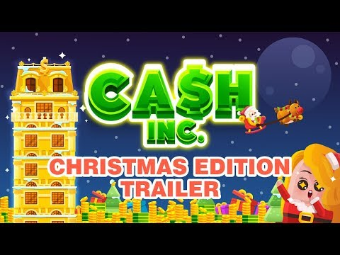 Cash, Inc. Christmas Edition | Money Clicker Game Trailer | Free game for Android & iPhone
