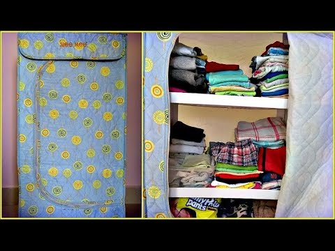 Baby clothes organization | Baby clothes cupboard | Indian kids clothes organization