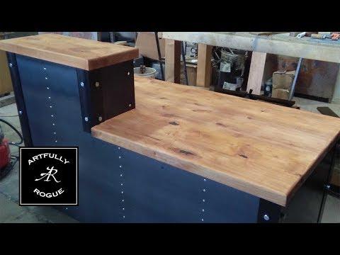 Industrial Reception Desk