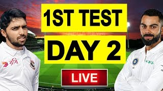 Live Score : India Vs Bangladesh 1st Test, Day 2 Commentary | Live Ind vs Ban 1st Test 2019