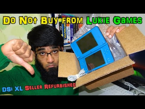 ❌Do Not Buy from Lukie Games 📣 DSi XL Refurbished from Lukie Games Review & 📦Unboxing🔪