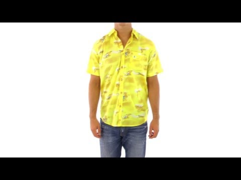 Lost Guys' Wovens Pearl Driver Button-Up Shirt | SwimOutlet.com