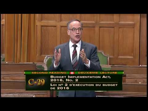 The Canada Child Benefit and Budget 2016