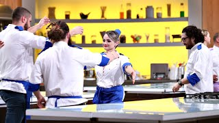 """Amalia Bellantoni, în lacrimi după ce a părăsit competiția """"Chef la Cuțite"""""""
