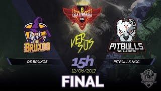 [FINAL] LIGA LENDÁRIA #1 - OS BRUXOS VS PITBULLS NGG E-SPORTS