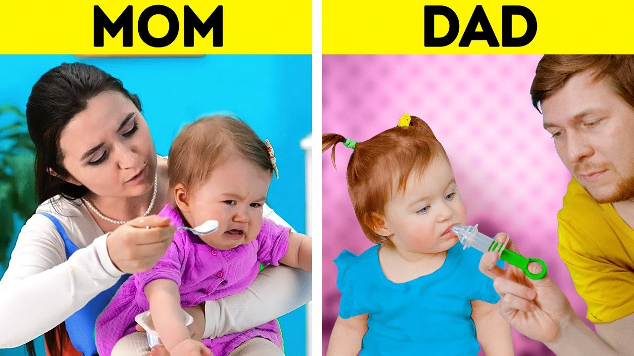 MOM VS. DAD    Clever Parenting Tricks And Gadgets You'll Be Grateful For    Easy Kids Training