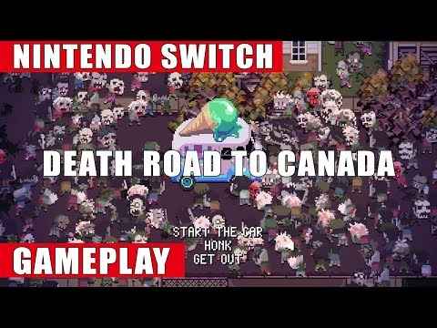 Death Road to Canada Nintendo Switch Gameplay