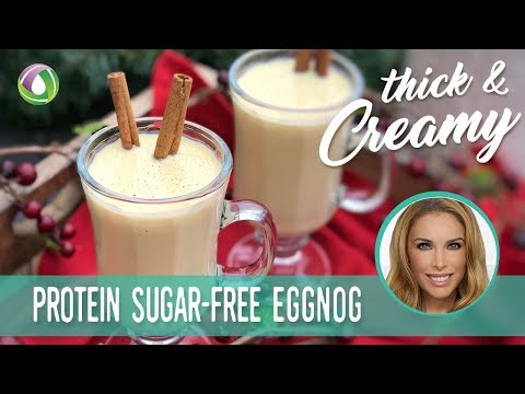 Eggnog - Protein Treats By Nutracelle