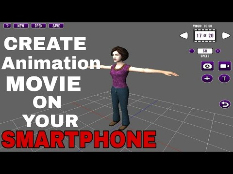 Create Animation Movie On Your Smartphone For Free