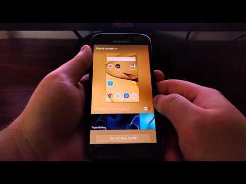 Galaxy S7 Lock Screen Wallpaper