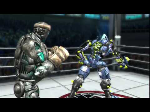 Real Steel-The extermination- Atom vs SHAGOJYO new  DLS robot(ЖИВАЯ СТАЛЬ)XBOX360/PS3