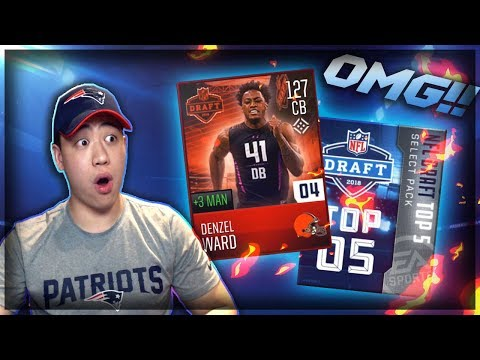 GODLY 119 OVR NFL DRAFT PLAYERS!! MADDEN MOBILE 18 NFL DRAFT BEST CARDS IN THE GAME!!