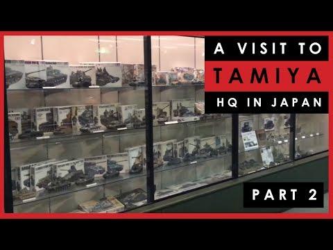Visit To Tamiya Headquarters In Japan - Part 2