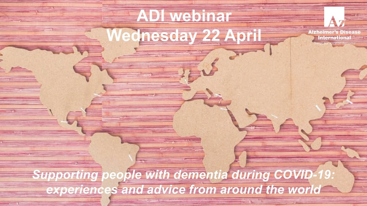 Supporting people with dementia during COVID-19 | ADI webinar