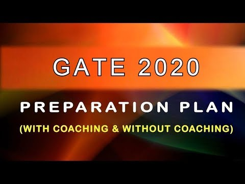 GATE 2019  Complete Preparation Strategy
