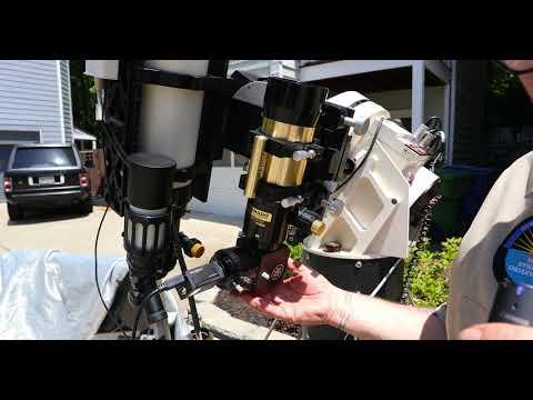 Charlie Bates Solar Astronomy Project Demonstrates the Coronado SolarMax III 70mm