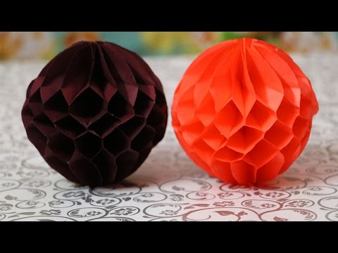 DIY Paper Honeycomb Ball | Easy Paper Crafts