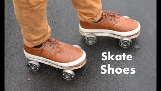How to make Roller Skate Shoes at home easy way