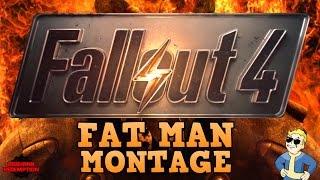 Fallout 4 Fat Man Trick Shot Montage! (AMAZING KILLS)