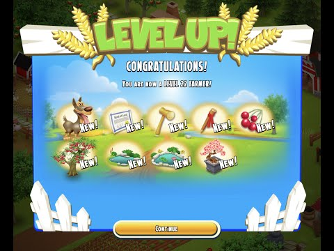 Hay Day - Level 22 Reached - Now I need LEMs for my Baby Farm