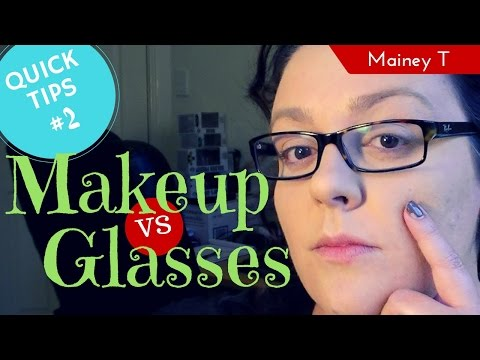 Quick Tip - Reduce Glasses Wear Marks on Your Nose