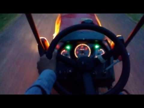 Kubota B2441 mini tractor driving experience