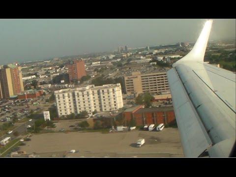 Air Canada E-190 [C-FHIQ] Landing in Toronto