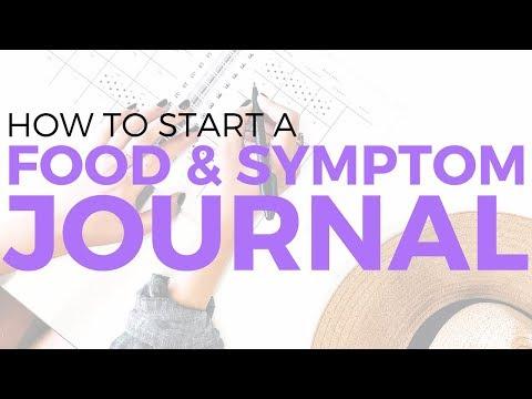 How to start a Food & Symptom Journal | SarahBethYoga