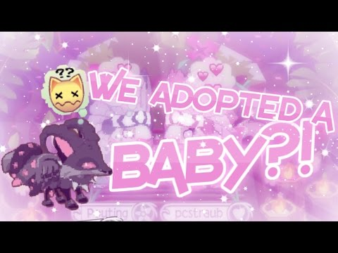 We Adopted A Baby?! Ft. Pouting || ANIMAL JAM