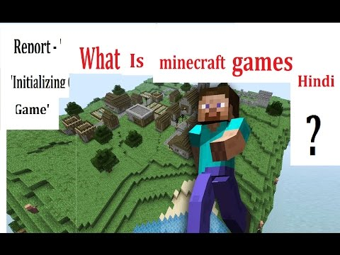 What Is Minecraft Games ? Hindi / Gujarati