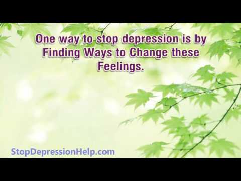 Find out How to deal with Depression alone without Medication - dealing with Depression
