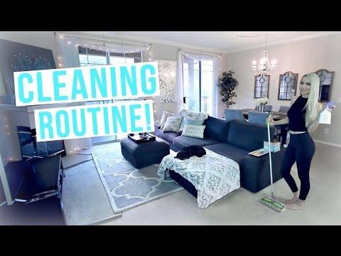 My Cleaning Routine! Cleaning Tips & Motivation