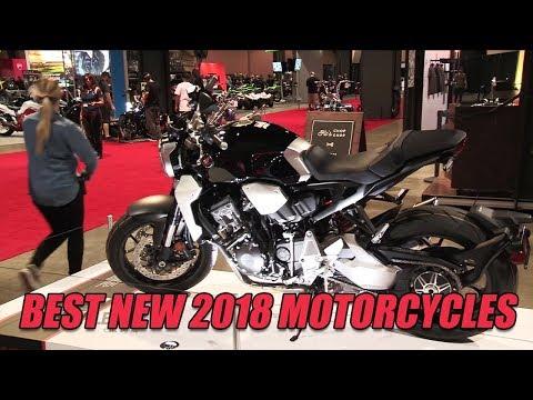 Looking Ahead: Best New 2018 Motorcycles