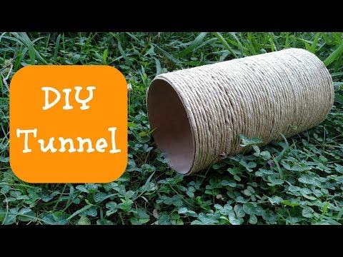 DIY GUINEA PIG/RABBIT TOYS   Tunnel
