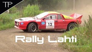 Old school action returns - Lahti Historic Rally 2016
