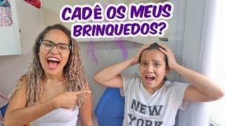SUMIMOS COM OS BRINQUEDOS DELA! - ENIGMA - Ft. Juliana Baltar