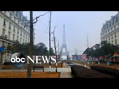 China Builds Fake Paris, London and Jackson Hole | An Inside Look