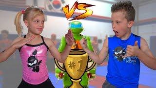 Download Sister vs Brother TWIN NINJA Challenge!