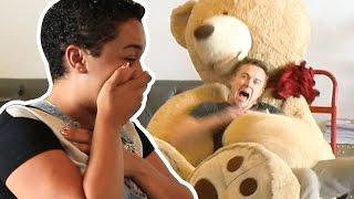 Teddy Bear Scare Prank