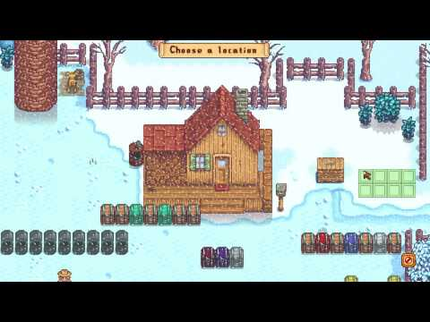 How to Move Buildings around - Stardew Valley