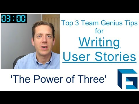 Writing user stories done well with these 3 tips