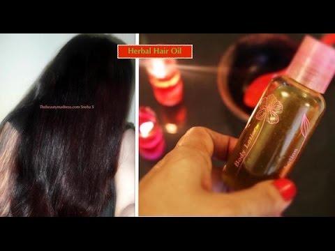 Powerful Hair Oil to Grow Hair Long, Thick, Shiny & Black Hair