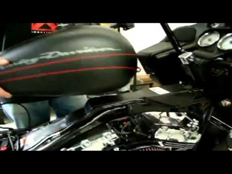 LA Choppers Installation: Prime Apes & Cable Kit 2010 Road Glide