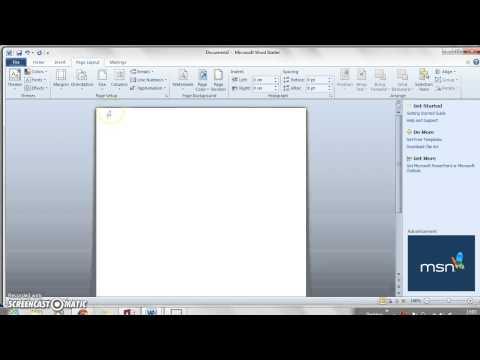 How to Adjust Page Setup