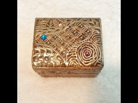 Easy Polymer Clay Box