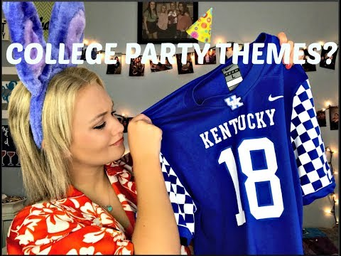 10 Outfits You'll Need Handy For College Party Themes
