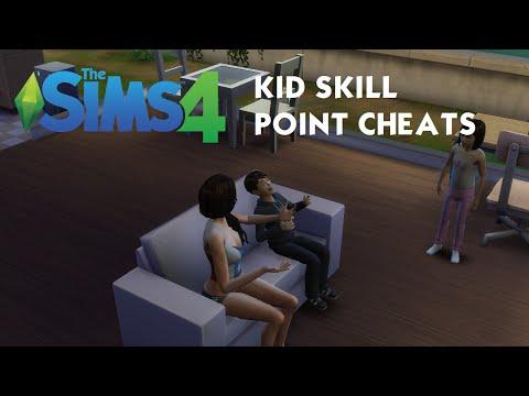 The Sims 4 Tutorial: Kid Sim Skill Point Cheats