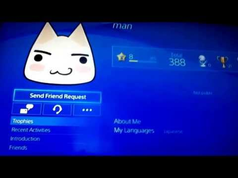 How to add a friend on ps4!