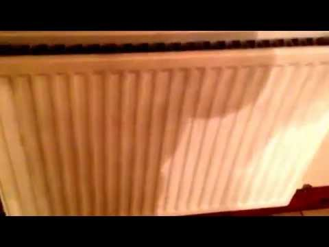 How to remove an airlock from a radiator on microbore pipework