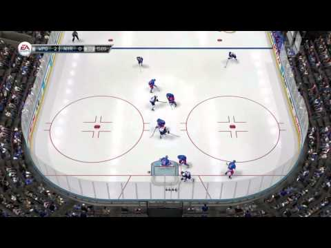 NHL 14: Live the Life - Icing Line Change Issue